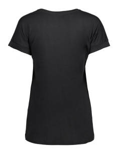 jdylouisa s/s fold up top jrs noos 15157925 jacqueline de yong t-shirt black