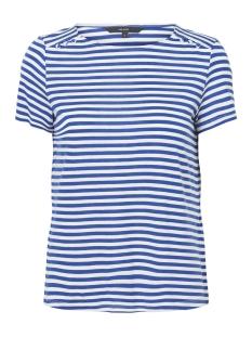 Vero Moda T-shirt VMJANY SONIA SS TOP GA 10199419 Mazarine Blue/SNOW WHITE