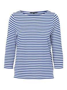 Vero Moda T-shirt VMJANY SONIA 3/4 TOP GA 10199418 Mazarine Blue/SNOW WHITE
