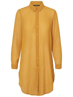 Vero Moda Blouse VMHANNI LS LONG SHIRT 10198978 Thai Curry