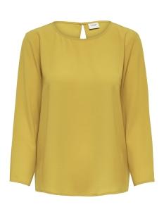 Jacqueline de Yong T-shirt JDYEDWIND 7/8 PLAIN TOP WVN FS 15169622 Golden Spice