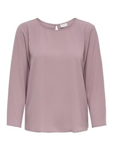 Jacqueline de Yong T-shirt JDYEDWIND 7/8 PLAIN TOP WVN FS 15169622 Nostalgia Rose