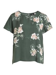 Object T-shirt OBJPAM S/S TOP REP 23027111 Pine Grove