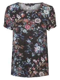 Vero Moda T-shirt VMZELDA ALISSA S/S TOP SB4 10206137 Black/FLOWERS