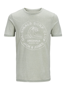 Jack & Jones T-shirt JORHERO TEE SS CREW NECK 12121150 Iceberg Green/SLIM