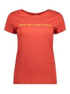 Jacqueline de Yong T-shirt JDYCHICAGO S/S PRINTED TOP 07 JRS 15158502 Molten Lava