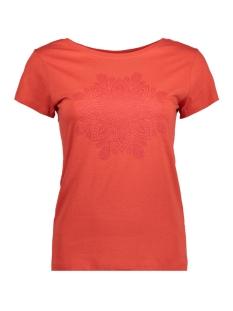 Jacqueline de Yong T-shirt JDYCHICAGO S/S PRINTED TOP 07 JRS 15158502 Molten Lava/List