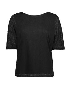 Vila T-shirt VIBOELLA S/S T-SHIRT 14047643 Black