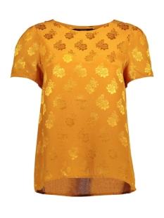 Vero Moda T-shirt VMKEIKO JAC S/S TOP D2-5 10205273 THAI CURRY