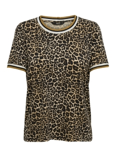 Only T-shirt onlSPORT S/S TOP JRS 15172389 Black/GOLDEN YEL