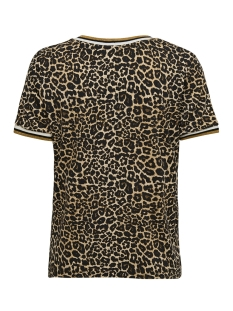 onlsport s/s top jrs 15172389 only t-shirt black/golden yel