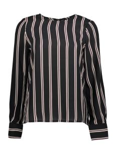 Vero Moda T-shirt VMGABBY L/S STRIPE TOP 10206519 Night Sky/CLASSIC