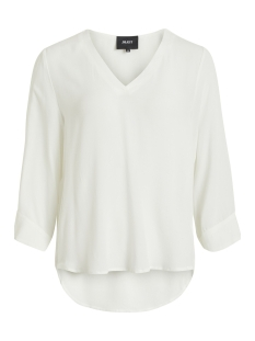 Object T-shirt OBJBAY 3/4 TOP NOOS 23027436 White