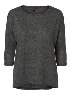 Vero Moda T-shirt VMMALENA 3/4 BLOUSE EXP NOOS 10201689 Dark Grey Melange