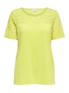 Jacqueline de Yong T-shirt JDYKIMMIE S/S TOP JRS 15161149 Aurora/DTM Lace