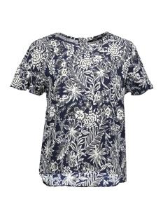 Vero Moda T-shirt VMNINA SS TOP FF LCS 10205616 Night Sky/NIGHT SKY