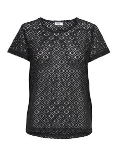 Jacqueline de Yong T-shirt JDYNEW TAG S/S LACE TOP JRS 15167279 Black/LACE 2