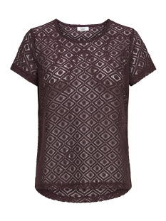 Jacqueline de Yong T-shirt JDYNEW TAG S/S LACE TOP JRS 15167279 Port Royale/LACE 2
