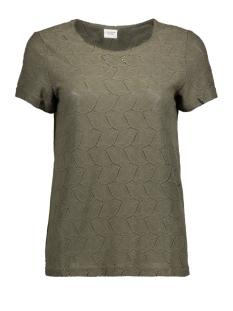 Jacqueline de Yong T-shirt JDYTAG S/S LACE TOP JRS RPT2 NOOS 15152331 Kalamata