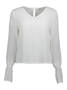 Vero Moda T-shirt onlSIMONA LS TOP  WVN 15162619 Cloud Dancer