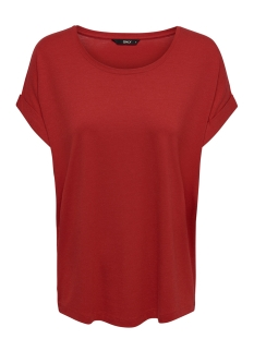 Only T-shirt onlMOSTER S/S O-NECK TOP NOOS JRS 15106662 Goji Berry