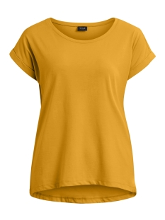 Vila T-shirt VIDREAMERS PURE T-SHIRT-FAV 14043506 Cathay Spice