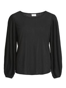 Vila T-shirt VILISLI L/S T-SHIRT 14048566 Black