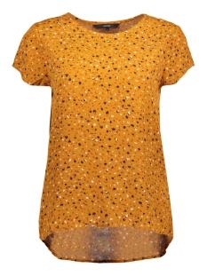 Vero Moda T-shirt VMYVONNE S/S TOP D2-6 10203601 Thai Curry/YVONNE PRINT