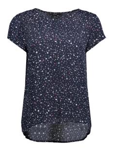 Vero Moda T-shirt VMYVONNE S/S TOP D2-6 10203601 Night Sky/YVONNE PRINT