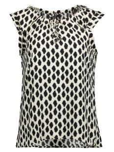 Vero Moda T-shirt VMLOA SL TOP 10199421 Oatmeal/LOA