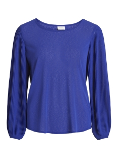 Vila T-shirt VILISLI L/S T-SHIRT 14048566 Clematis Blue