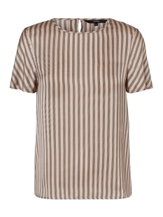 Vero Moda T-shirt VMBRITT SS TOP 10201622 Misty Rose/BLACK
