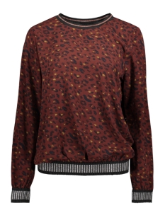 Circle of Trust Blouse W18 39 3580 MAY TOP Burnt Bordeaux