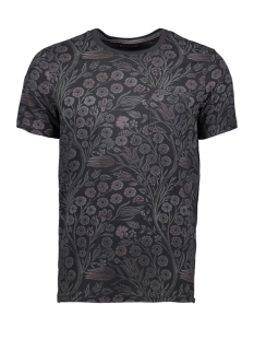 Jack & Jones T-shirt JPRTERRY TEE SS CREW NECK 12139737 Caviar/SLIM FIT