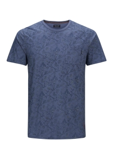 Jack & Jones T-shirt JPRTERRY TEE SS CREW NECK 12139737 Vintage Indigo