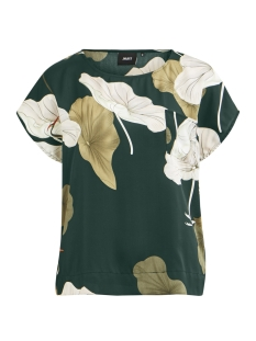 Object T-shirt OBJPANTHEON S/S URBAN TOP A PS18 DI 23027605 Pine Grove/BIG FLORAL