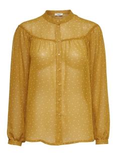 Jacqueline de Yong Blouse JDYELLY L/S SHIRT WVN 15158772 Golden Spice/ CLOUD DANC