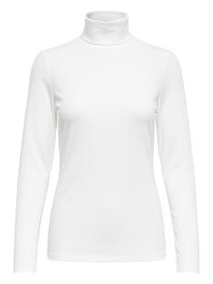 Jacqueline de Yong T-shirt JDYSTARRY L/S HIGHNECK TOP JRS 15158451 Cloud Dancer