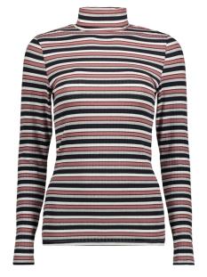 Jacqueline de Yong T-shirt JDYSTARRY L/S HIGHNECK TOP JRS 15158451 Light Grey Mela/ STARRY STR