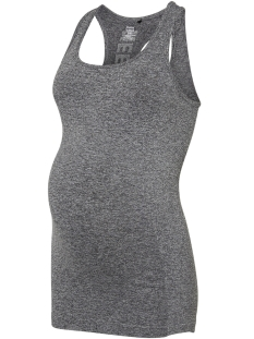 Mama-Licious Positie shirt MLIZA ACTIVE TANK TOP O. 20009165 Medium Grey Melange