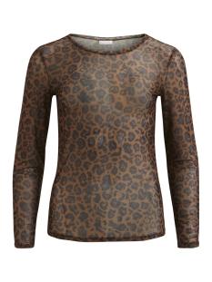 Vila T-shirt VISIS MILEREDA L/S T-SHIRT/PB 14048002 Toffee/MILREDA