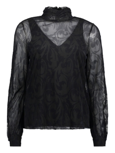 Vero Moda Blouse VMMALIKKA LS TOP 10204414 Black/NIGHT SKY