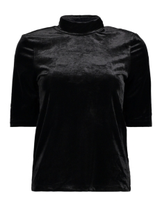 Vero Moda T-shirt VMVALA 2/4 HIGH NECK TOP 10208100 Black