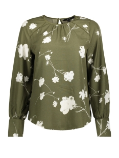 Vero Moda Blouse VMZITTA LS TOP 10202267 Ivy Green/ZITTA PRIN