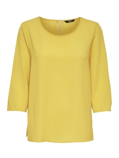 Only T-shirt onlVIC 3/4 SOLID TOP NOOS WVN 15150195 Yolk Yellow
