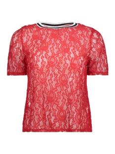 Only T-shirt onlGWENNY 2/4 TOP BOX  RP1 JRS 15173017 Goij Berry