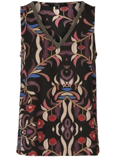 Vero Moda Top VMGYANA SL TOP 10204507 Black/GYANA PRINT