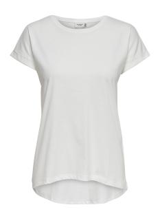 jdylouisa s/s fold up top jrs noos 15157925 jacqueline de yong t-shirt cloud dancer
