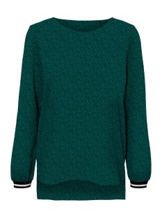 Vero Moda T-shirt VMBALI TRACK L/S TOP EXP 10212353 Alpine Green/KIMMIE