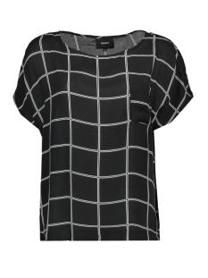 Object T-shirt OBJBERRY  URBAN S/S TOP .I 99 23028478 Black